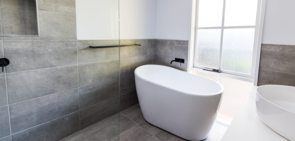 Bathtub with Tap Renovations Services by Bayview Renovations