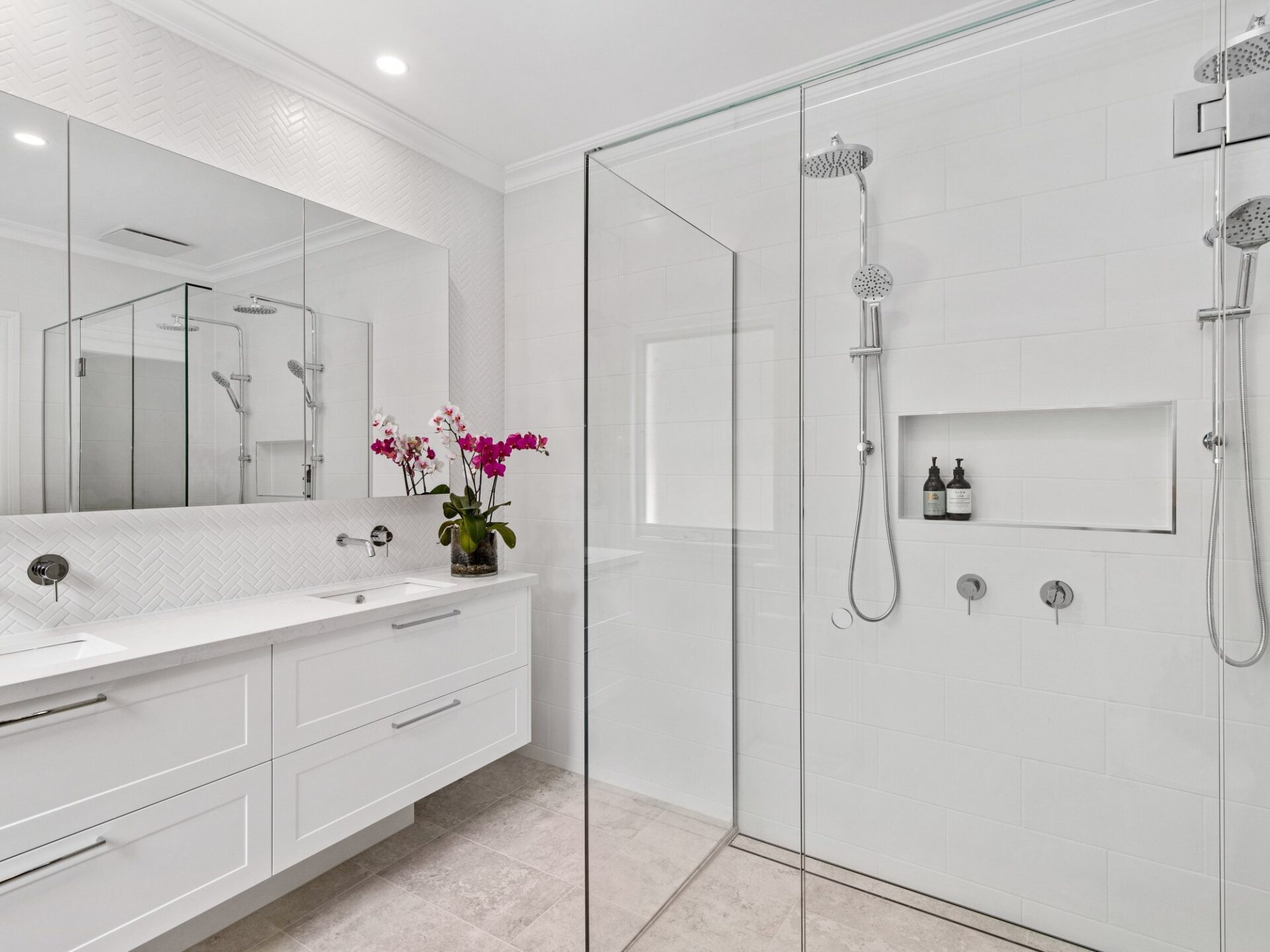 Shower & Basin Renovations Services - Bayview Renovations