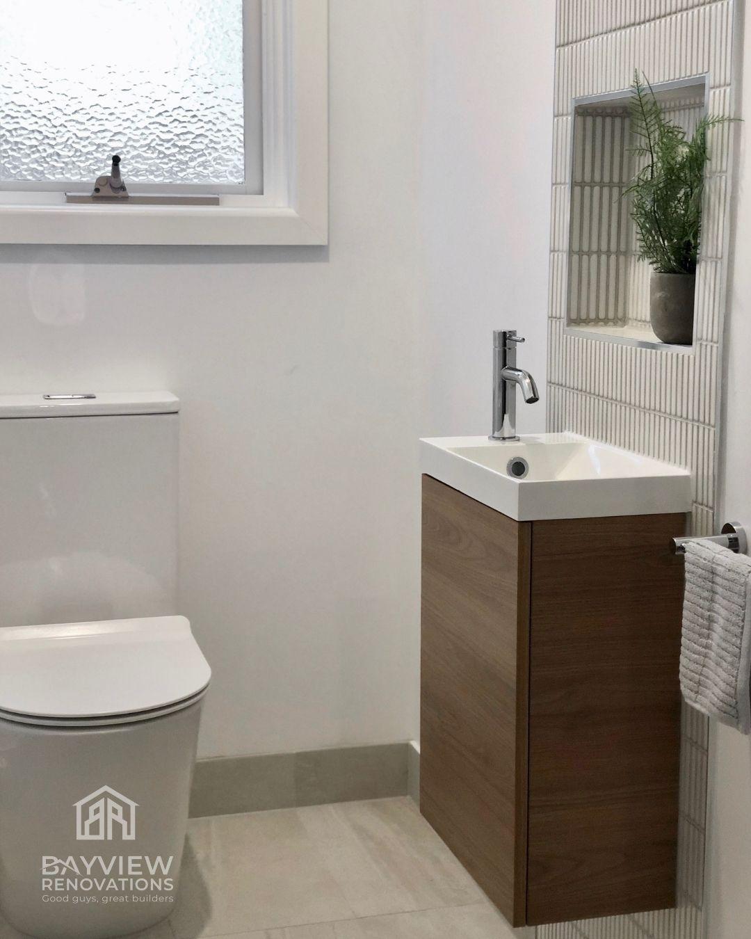 Beaumaris - Hilton Street - Powder Room - Bayview Renovations