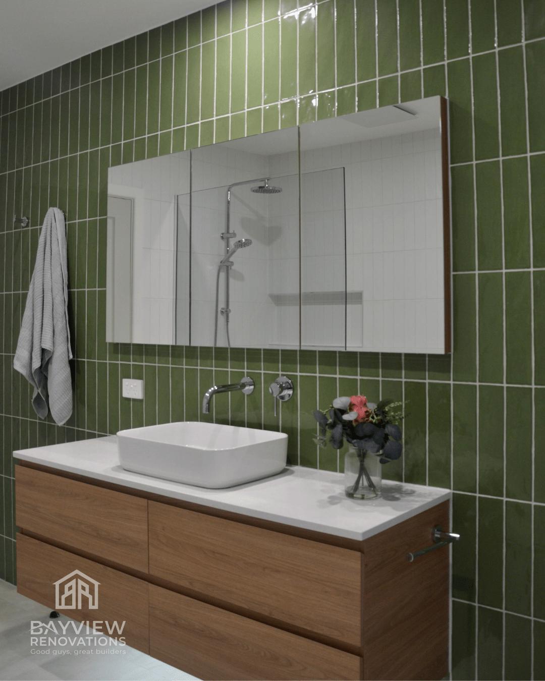Hilton Street Main Bathrom Renovation - Bayview Renovations