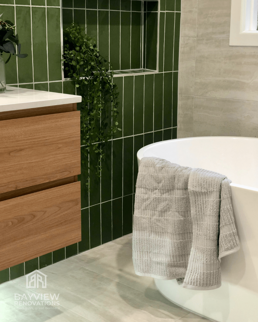 Bathroom Renovation Services in Hilton Street - Bayview Renovations